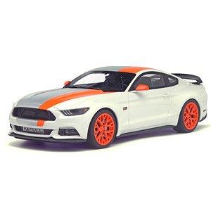 フォード マスタング by ボジックス デザイン (ホワイト/グレー/オレンジ) (ミニカー)