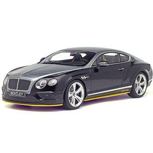 ベントレー コンチネンタル GT スピード ブライトリングスペシャルカラー (ブラック/グレー/イエロー) (ミニカー)
