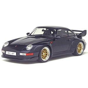 ポルシェ 911 GT (993) (ダークブルー) (ミニカー)