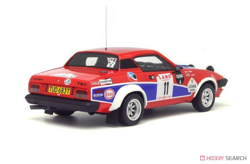 トライアンフ TR7 V8 Gr.4 Manx Trophy 1980 (レッド/ブルー/ホワイト) (ミニカー)