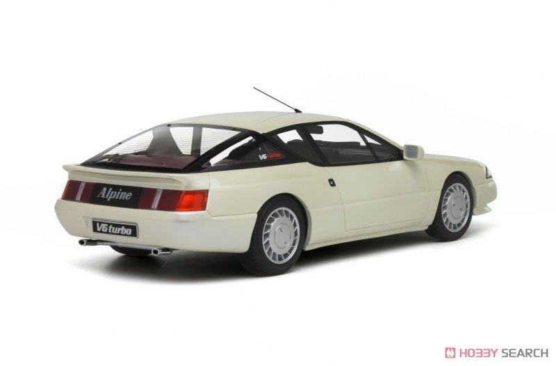 アルピーヌ GTA V6 ターボ (ホワイトパール) (ミニカー)