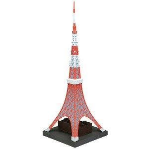 ソフビトイボックス Hi-LINE003 東京タワー 日本電波塔 (完成品)