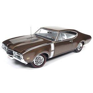 1968 Oldsmobile Cutlass 442 (ブロンズ) (ミニカー)