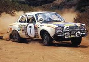 1972 FORD ESCORT RS 1600 RS MkI #7 SAFARIRALLY (ミニカー)