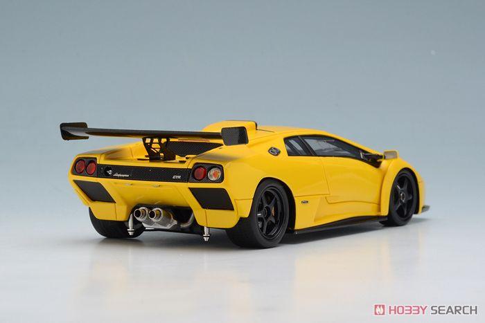 Lamborghini Diablo GTR 1999 パールイエロー (ミニカー)