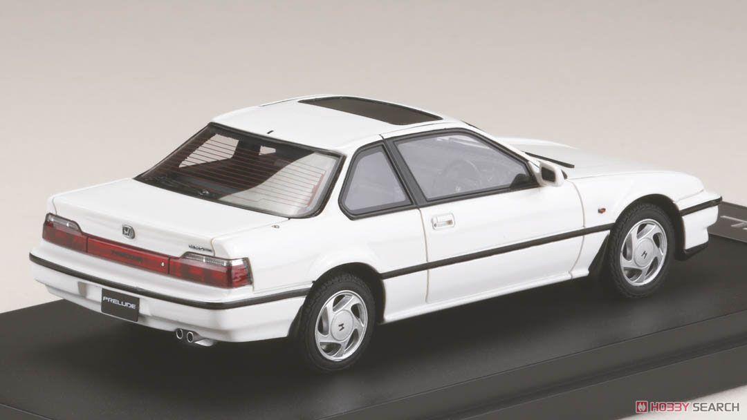 ホンダ プレリュード XX (BA5) 1989 フロストホワイト (ミニカー)