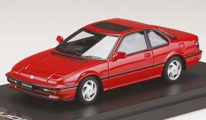 ホンダ プレリュード XX (BA5) 1989 フェニックスレッド (ミニカー)
