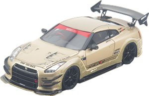 TOP SECRET R35 GT-R TOP SECRET GOLD (ミニカー)