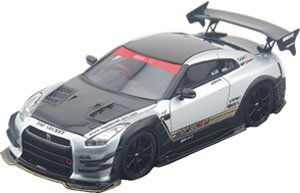 TOP SECRET R35 GT-R TS SILVER (ミニカー)