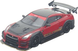 TOP SECRET R35 GT-R TS RED (ミニカー)