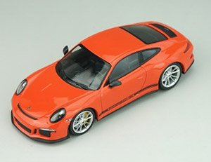 Porsche 911R 2016 Lava Orange Black Side Decal (ミニカー)