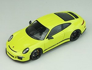 Porsche 911R 2016 Light Green Black Side Deal (ミニカー)