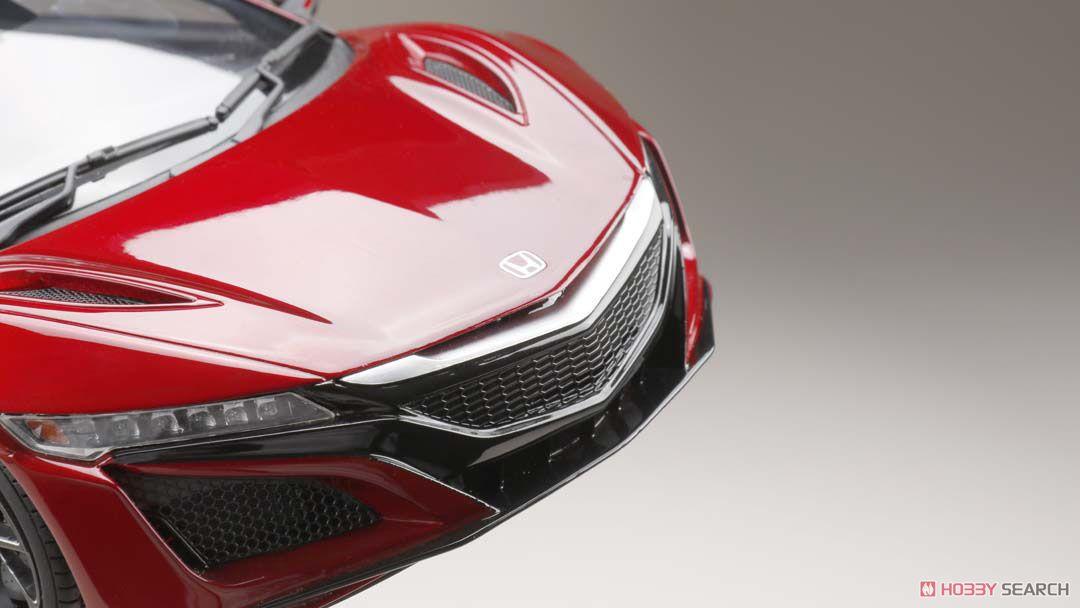 ホンダ NSX (NC1) 2017 カーボンパッケージ バレンシアレッドパール (ミニカー)