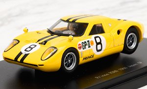 Prince R380 1967 Japan GP IKUZAWA No.8 (ミニカー)
