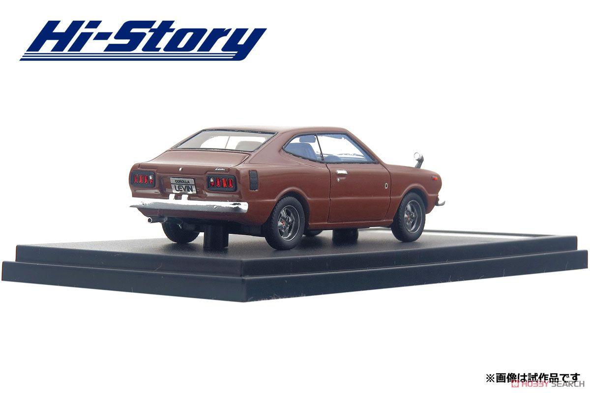 Toyota COROLLA HARDTOP LEVIN 1600 (1974) スプレンダーブラウンM (ミニカー)