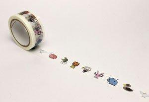 ガールズ&パンツァー劇場版 マスキングテープ チームロゴver. (キャラクターグッズ)