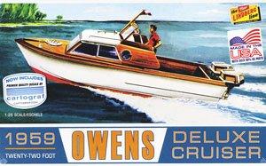 1959 オーエンス デラックス・クルーザーボート (プラモデル)