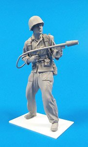 米海兵隊兵 w/M2A1火炎放射器 「硫黄島 1945年」 (プラモデル)