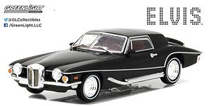 Hollywood - Elvis Presley (1935-77) - 1971 Stutz Blackhawk (ミニカー)