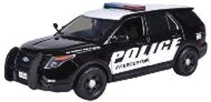 2015 Ford Police black/white (ミニカー)