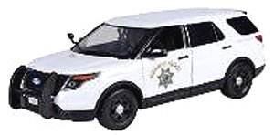 2015 Ford Police Intercepter white (ミニカー)