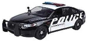 2013 Ford Police Intercepter black/white (ミニカー)