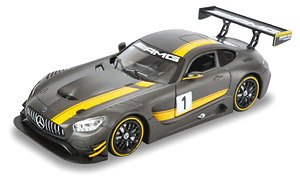 Mercedes Benz AMG GT3 Grey (Diecast Car)