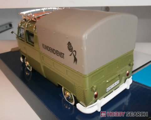 Volkawagen Type2 (T1) roof+cover alpine green (ミニカー)