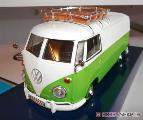 Volkswagen Tupe2 (T1) Derivery R white/cliff green (ミニカー)