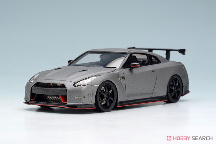 NISSAN GT-R NISMO N Attack Package 2014 ダークマットグレー (ミニカー)