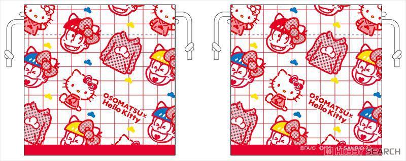 おそ松さん×Sanrio Characters ミニ巾着 (12個セット) (キャラクターグッズ)