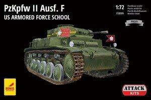 II号戦車F型 「アメリカ陸軍戦車学校」 (プラモデル)