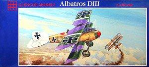 ドイツ空軍 戦闘機 アルバトロス DIII (プラモデル)