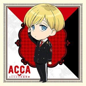 『ACCA13区監察課』 もふもふミニタオル ジーン・オータス (キャラクターグッズ)