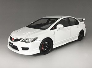 Honda CIVIC Type-R FD2 Mugen White (ミニカー)