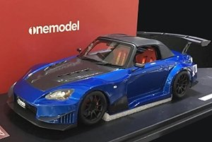 J`s racing S2000 Street Version PearlBlue (ミニカー)
