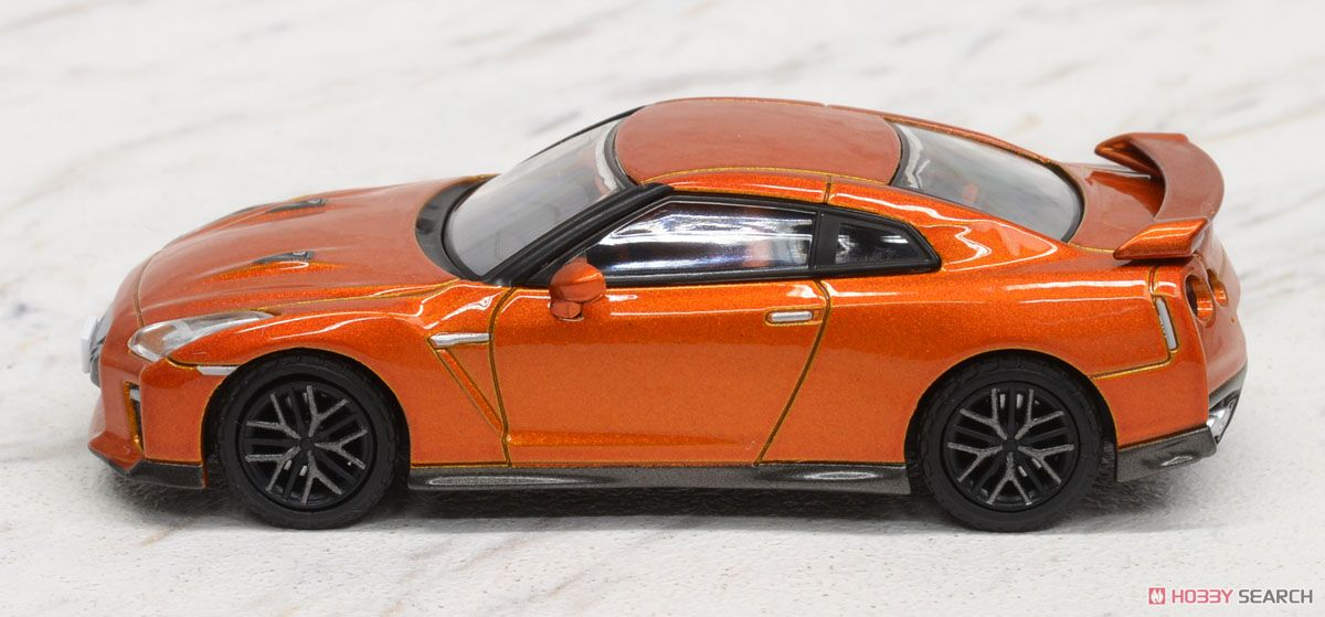 LV-N148a 日産GT-R 2017モデル (橙) (ミニカー)
