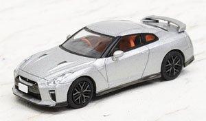 LV-N148b 日産GT-R 2017モデル (シルバー) (ミニカー)