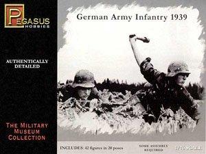 WW.II ドイツ軍 歩兵フィギュア 1939 (プラモデル)
