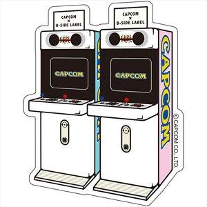 CAPCOM×B-SIDE LABELステッカー アーケード ミニキュート (キャラクターグッズ)