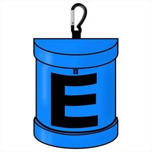 ロックマン カラビナ付きポーチ E缶 (キャラクターグッズ)