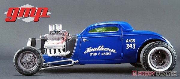 1934 Blown Altered Coupe - Southern Speed & Marine (ミニカー)