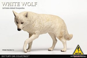 Flirty Girl 1/6 Animal Companion Wolf White (Fashion Doll)