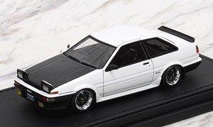 Toyota Sprinter Trueno (AE86) 2Dr GTV White (ミニカー)