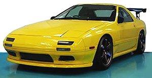 Mazda Savanna RX-7 (FC3S) Yellow (ミニカー)