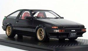 Toyota Sprinter Trueno(AE86) 3Dr GTV Black (ミニカー)