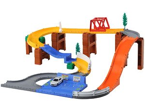 Tomica System 3way Jump Road set (Tomica) - HobbySearch Toy Store