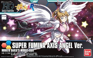 Super Fumina Axis Angel Ver. (HGBF) (Gundam Model Kits)