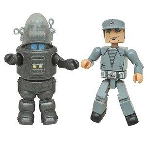 ミニメイツ/ 禁断の惑星: ロビー・ザ・ロボット&C-57Dクルーマン 2PK (完成品)