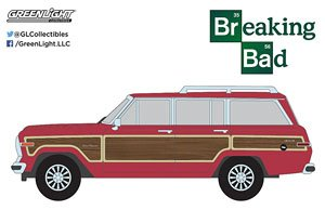 Breaking Bad (2008-13 TV Series) - Skylar White`s 1991 Jeep Grand Wagoneer (ミニカー)